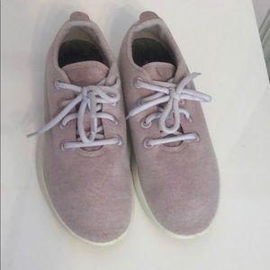 Allbirds light pink sneakers, women's 9